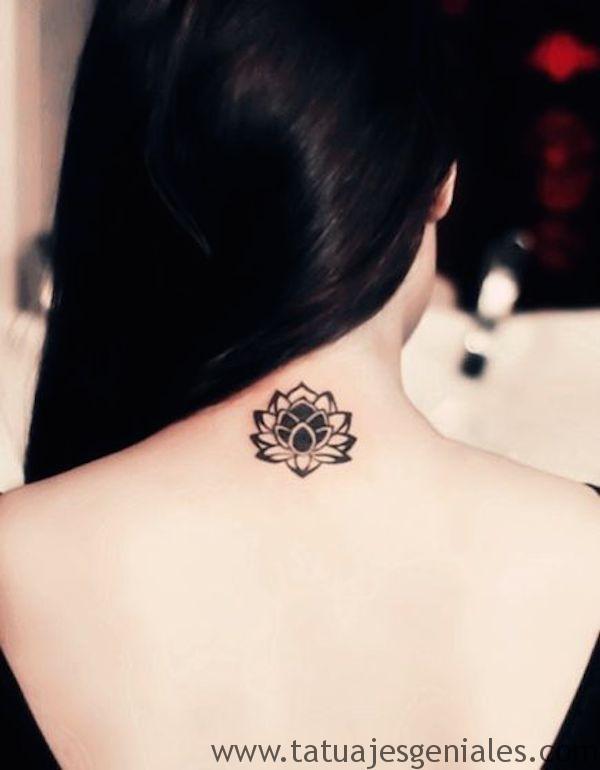 tatu pequeño espalda 6