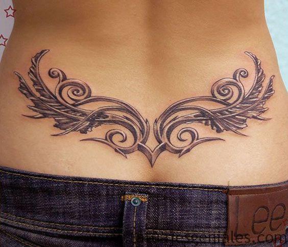 tatuajes caderas tribales 4