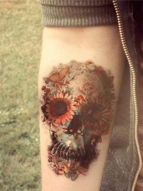 tatuajes de flores para hombre 1