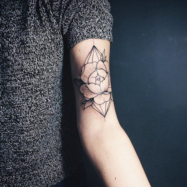 tatuajes de flores para hombre 4