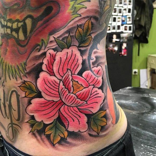 tatuajes de flores para hombre 6