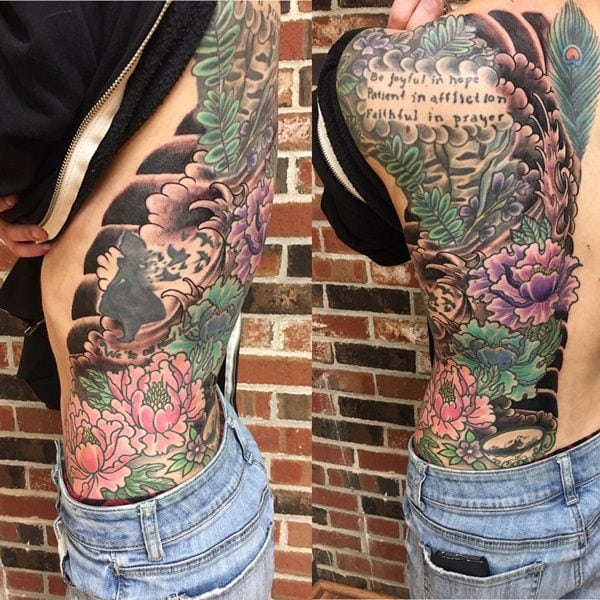 tatuajes de flores para hombre 8