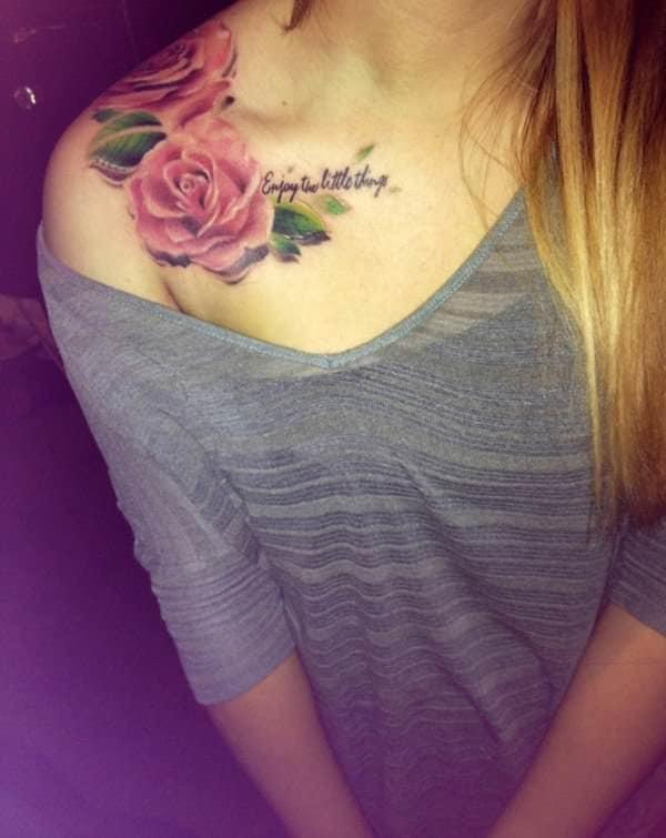 tatuajes de flores para mujeres 4