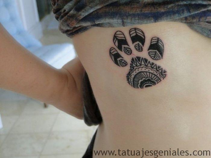 tatuajes de huellas de perros 1