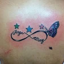 tatuajes de infinito con estrellas 1 - tatuajes de infinito