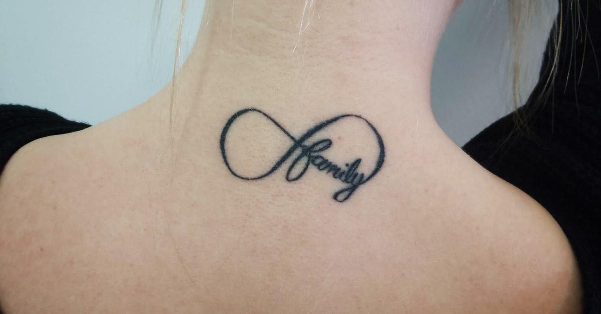 tatuajes de infinito familia - tatuajes de infinito
