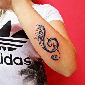 tatuajes de letras musicales 3 276x276 -