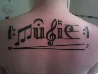 tatuajes de letras musicales 8 407x305 -