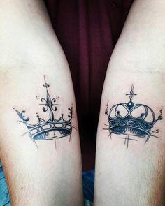tatuajes de parejas con coronas 13 -