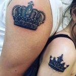 tatuajes de parejas con coronas 14 150x150