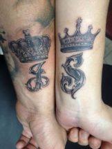 tatuajes de parejas con coronas 5 162x215 -