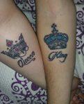 tatuajes de parejas con coronas 9 121x215 121x150