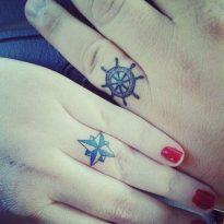 tatuajes de parejas pequeños 3 205x205 -