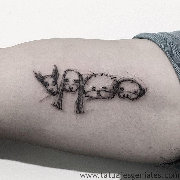 tatuajes de perros 1
