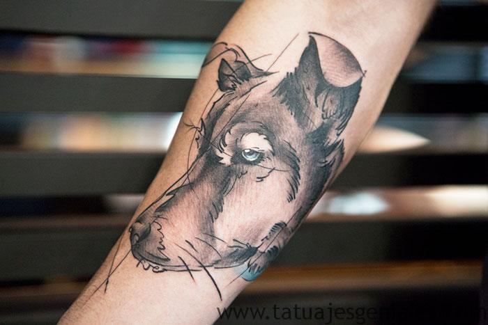 tatuajes de perros 11