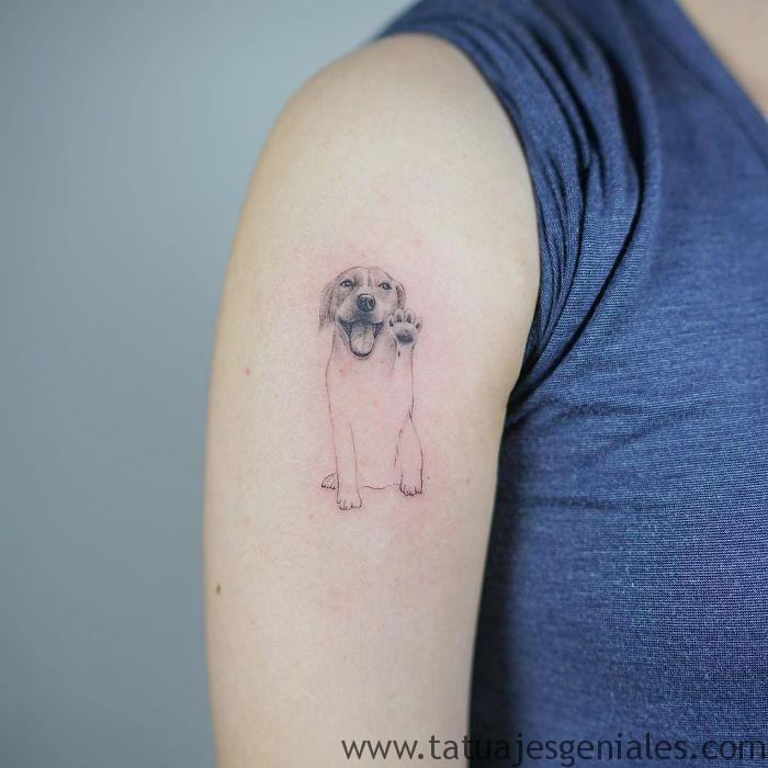 tatuajes de perros 17