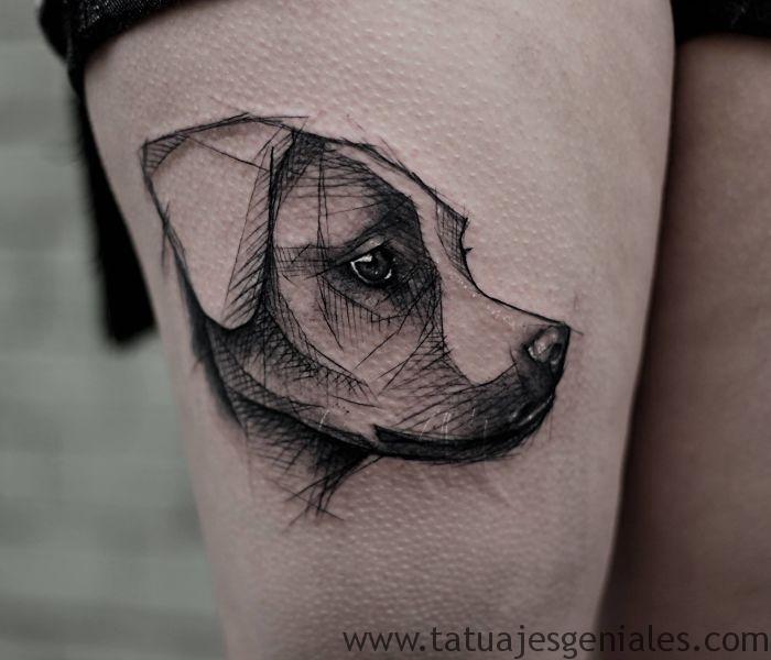 tatuajes de perros 42