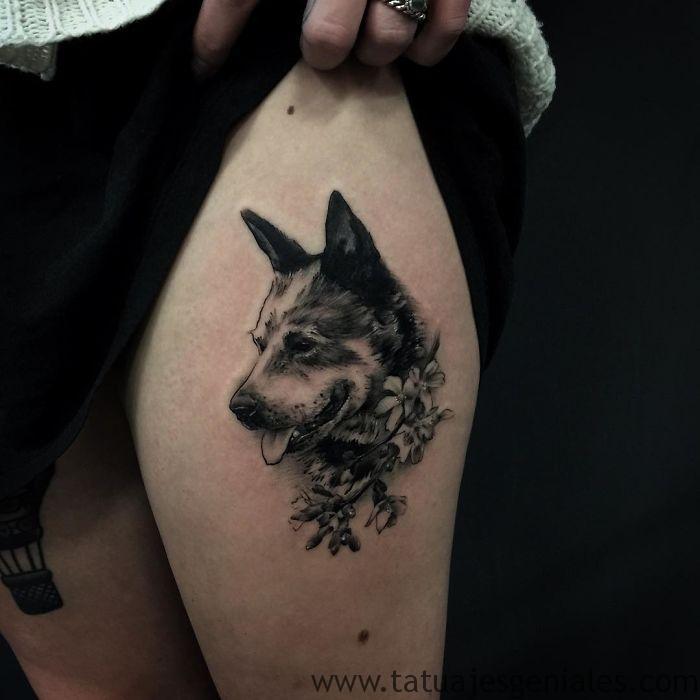 tatuajes de perros 6