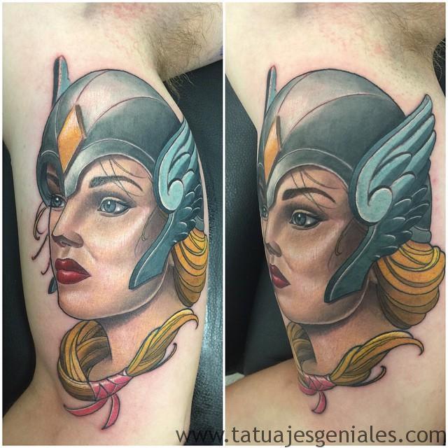tatuajes mujeres vikingas 6