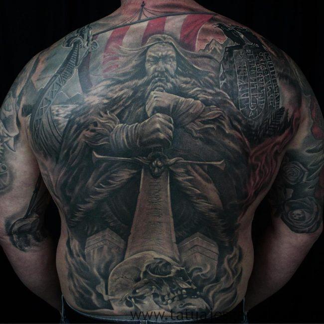 tatuajes nordicos 1