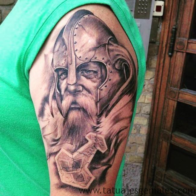 tatuajes nordicos 5