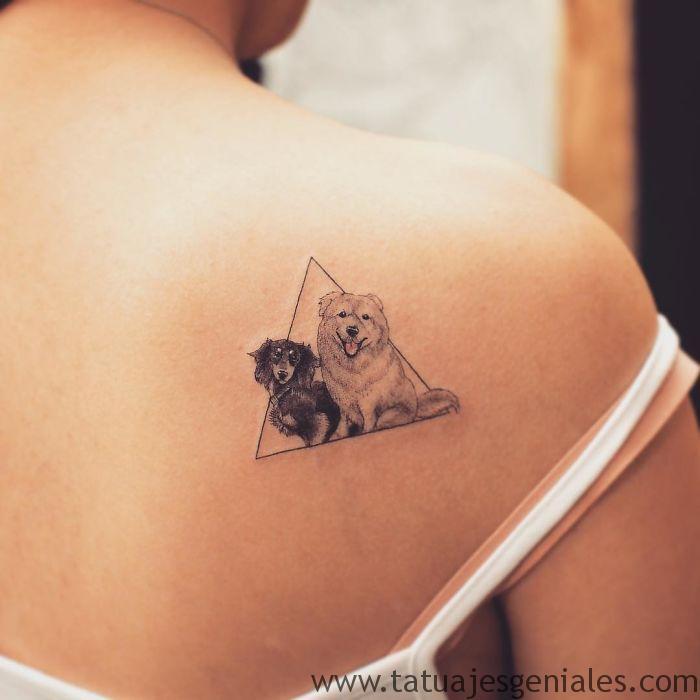 tatuajes perros mujeres 1