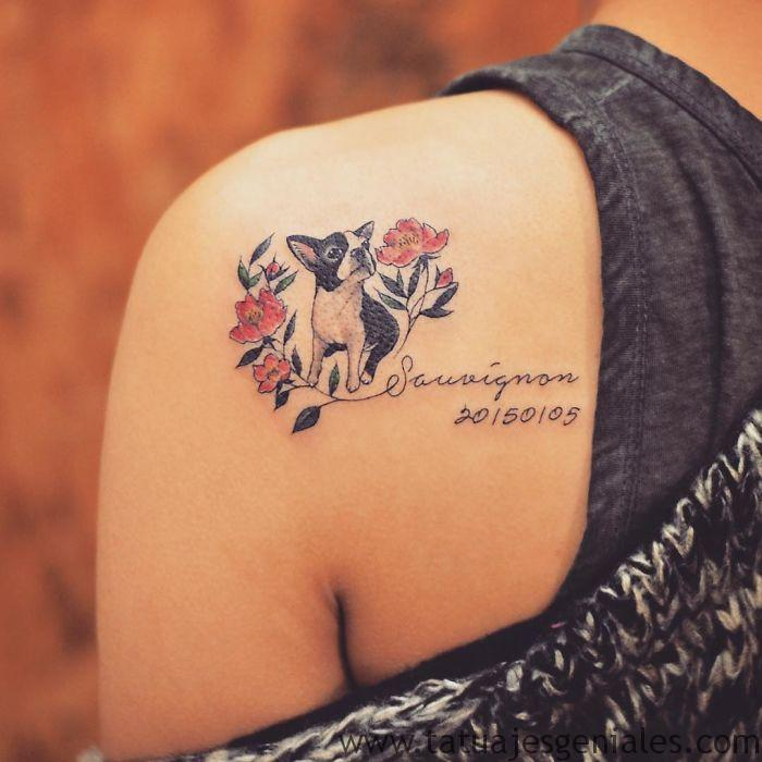 tatuajes perros mujeres 2