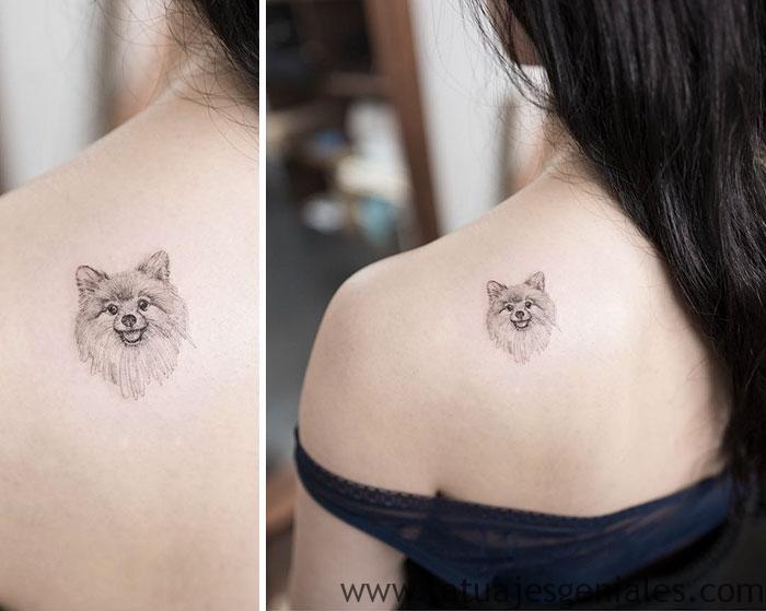 tatuajes perros mujeres 5