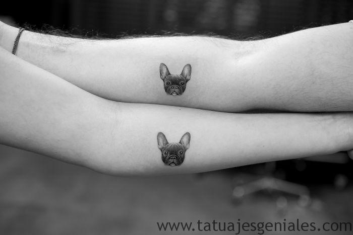 tatuajes perros pequeños muñecas 2