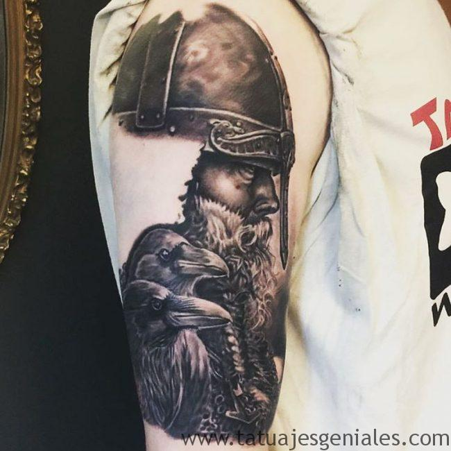tatuajes vikingos brazo 1