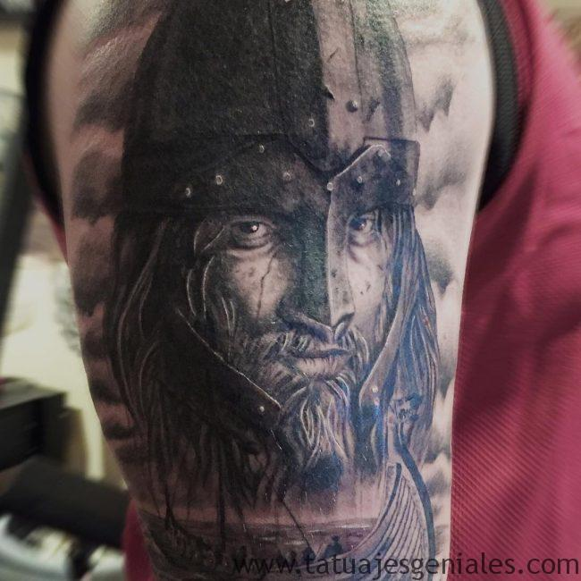 tatuajes vikingos brazo 2