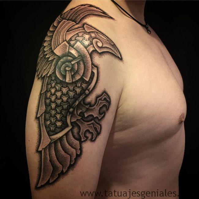 tatuajes vikingos brazo 4 -