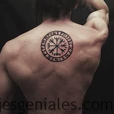 Significados Y Origen De Los Tatuajes Vikingos Y Nordicos - Simbolo-tatuaje