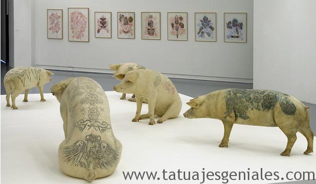cerdos tatuados 22
