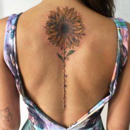 girasoles en la espalda (2)