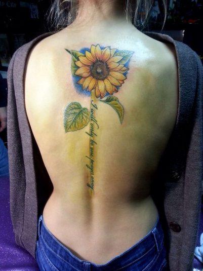 girasoles en la espalda (3)