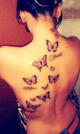 mariposas en la espalda 276x458