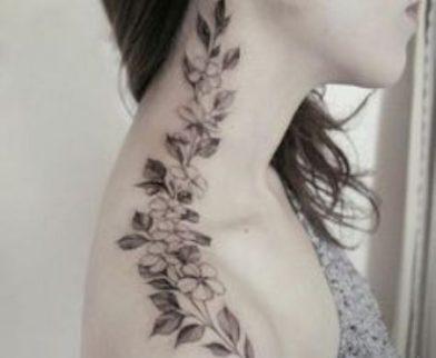 48 Ideas De Tatuajes De Enredaderas Inigualables Mujeres Hombres
