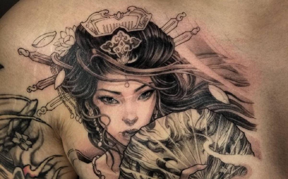 tattoo geisha portada 1 -
