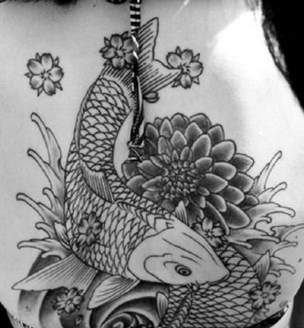 tattoo pez koi carpa portada 1 333x360