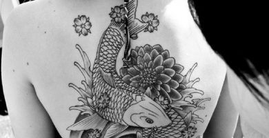 tattoo pez koi carpa portada 1 390x200