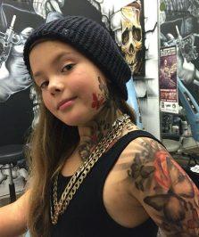 tattoo temporal niños 4 223x266