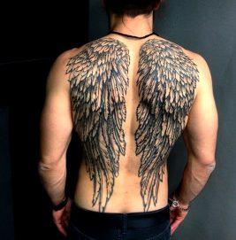 tatuajes de alas en la espalda (2)