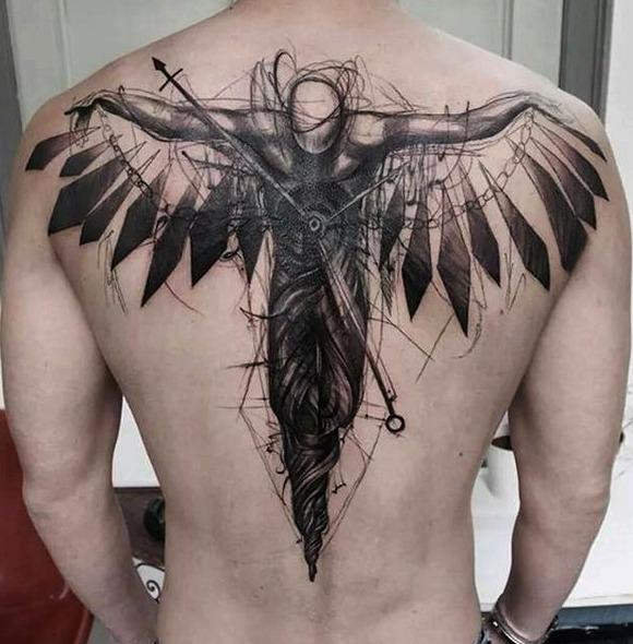tatuajes espalda hombres 5