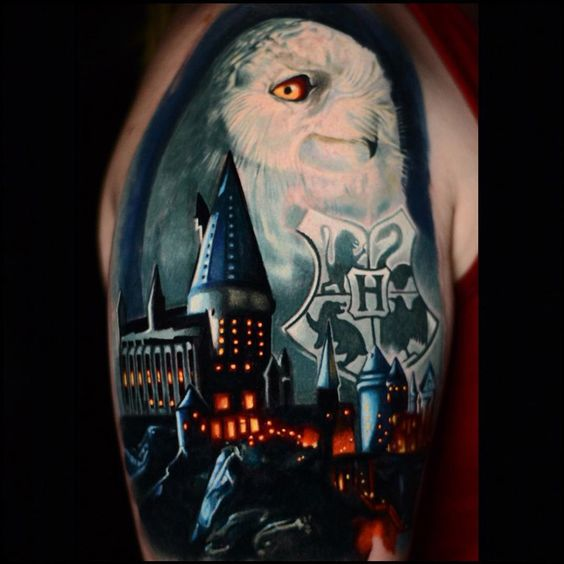 harry potter en brazo 1