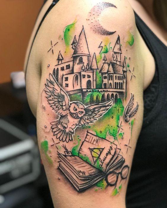 harry potter en brazo 3