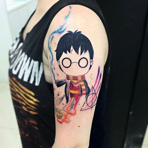 harry potter en brazo 4