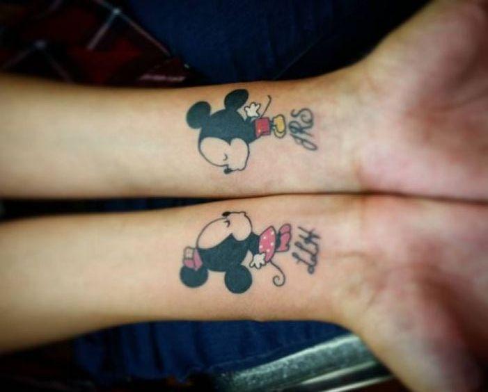 tatuajes de miki en la muñeca 1