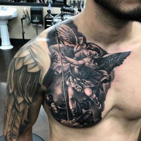 angel de la guarda 1 - tatuajes de ángeles