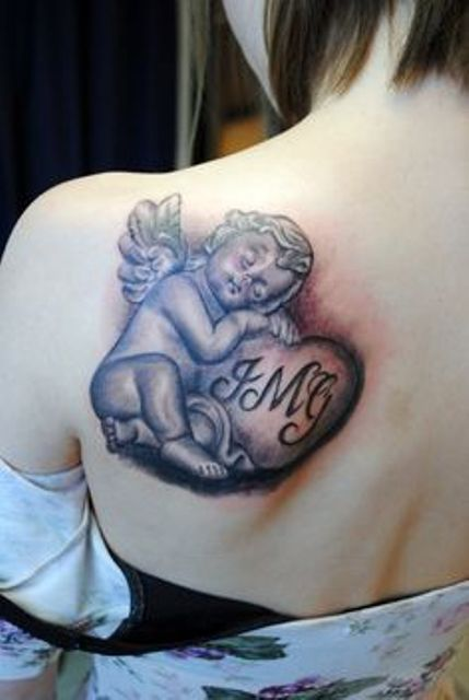 angeles bebes para mujeres 3 1 - tatuajes de ángeles